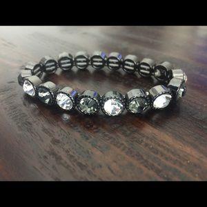 Like new! LOFT Jeweled Bracelet
